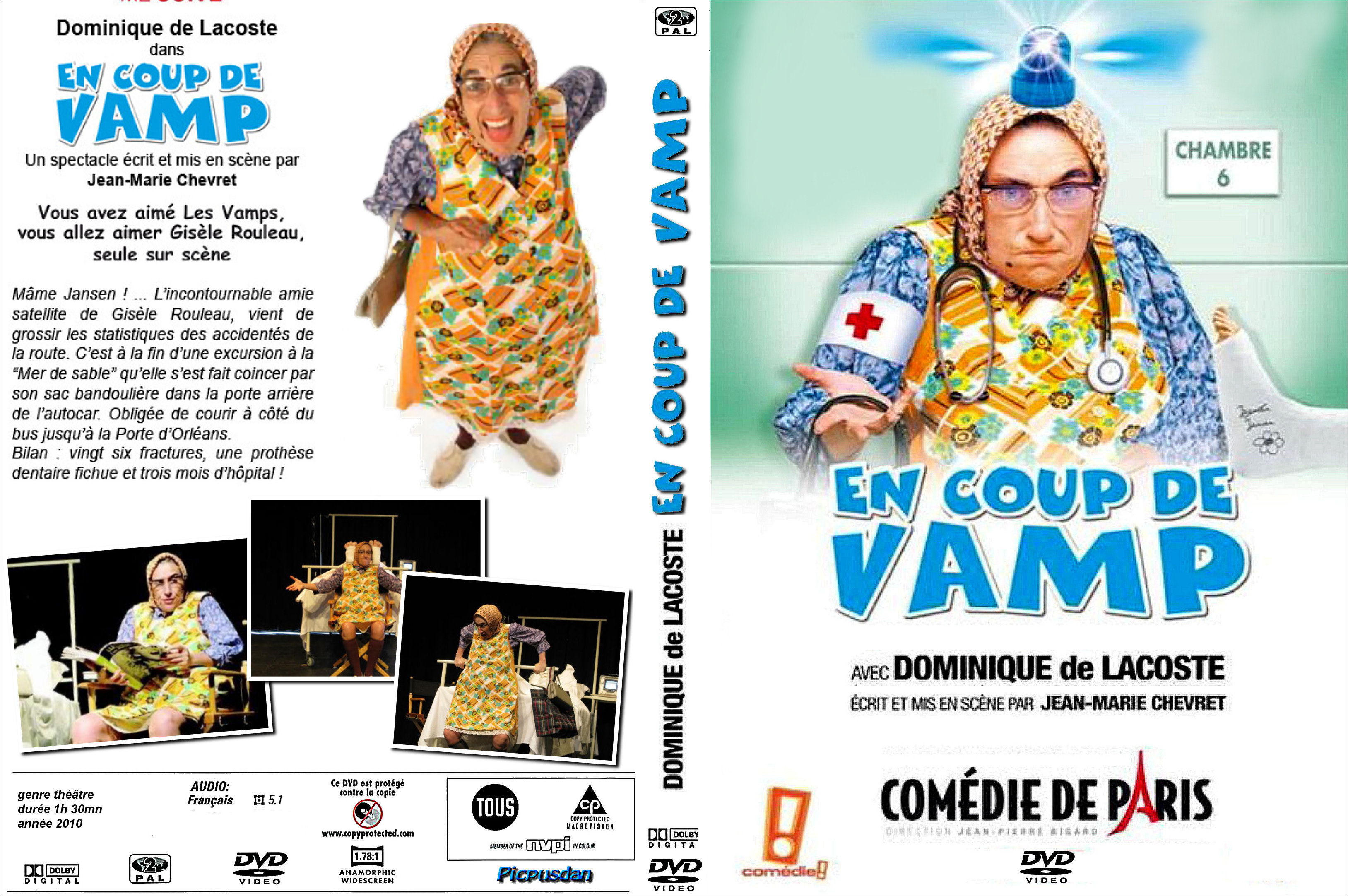 Dominique de lacoste en coup de vamp - En coup de vamp streaming ...